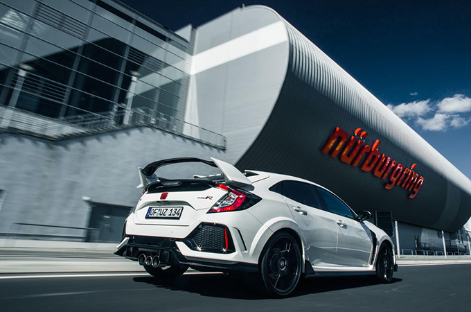 Honda George, 2017 Honda Civic Type R sets new Front-wheel Drive Lap Record at the Nürburgring, news.